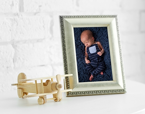baby boy newborn portrait
