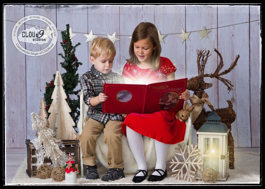 Christmas Children's Portrait