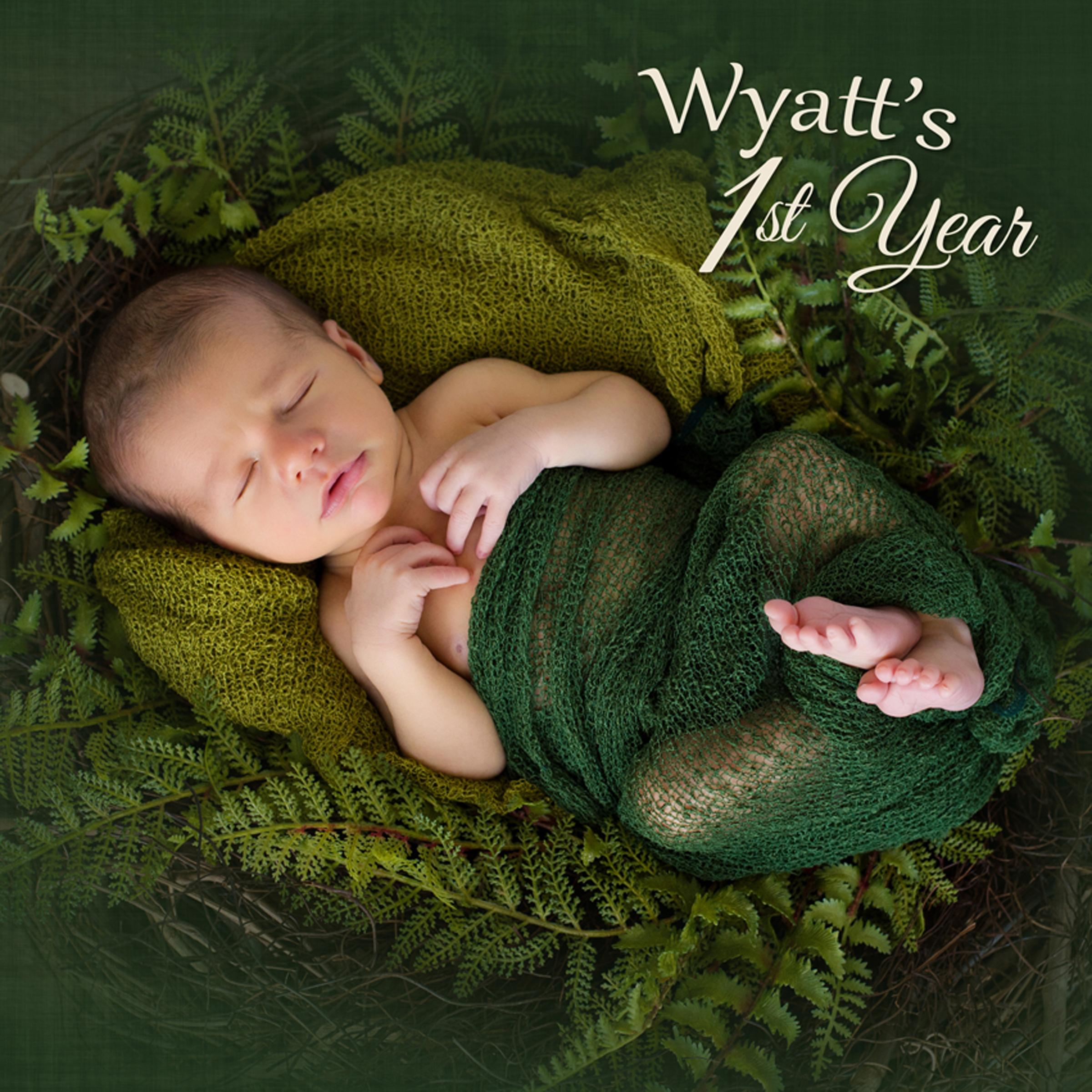 Wyatt's 1 Year Baby Album